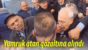 Kılıçdaroğlu'na yumruk atan Osman Sarıgün gözaltına alındı