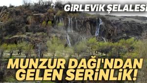 Munzur Dağı'ndan gelen serinlik: Girlevik Şelalesi