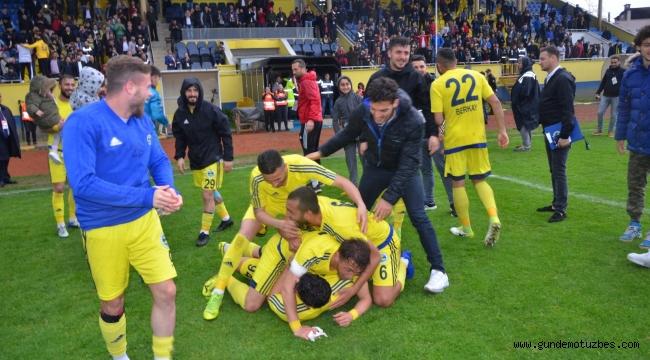 TFF 3. Lig: Fatsa Belediyespor: 3 - Bucaspor: 1