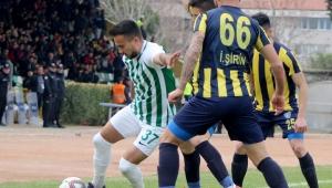 TFF 3. Lig: Muğlaspor: 1 Bucaspor: 0