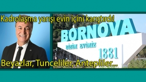 Bornova belediyesinde tehlikeli kutuplaşma!