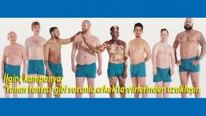 Bu sefer erkekler kampanya başlattı: 'Yunan tanrısı' gibi sorunlu erkek tasvirlerinden uzaklaşın