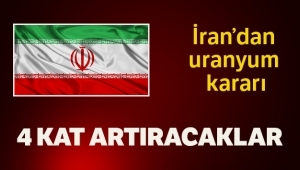 İran zenginleştirilmiş uranyum kapasitesini artırma kararı aldı