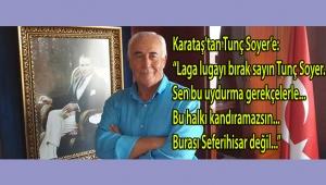 Kemal Karataş'tan Şato manifestosu:
