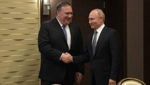 Putin ve Pompeo arasında kritik görüşme gerçekleşti
