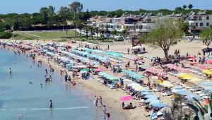 9 günlük tatilde Didim'e tatilci akını