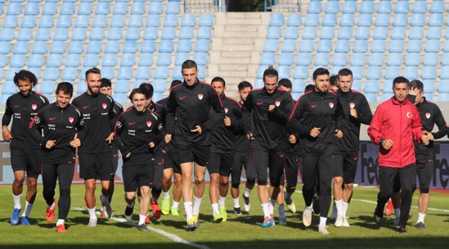 A Milli Futbol Takımı, İzlanda maçına hazır
