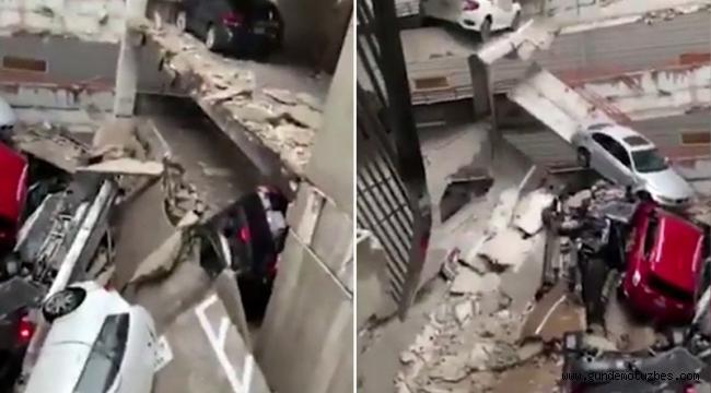Dallas'ta bir binanın üzerine vinç devrildi: 1 ölü, 6 yaralı