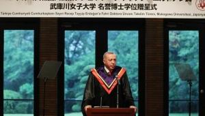 Erdoğan: Japonya'daki 80 kadın üniversitesini inceleyerek Türkiye'de de bunun adımını atacağız