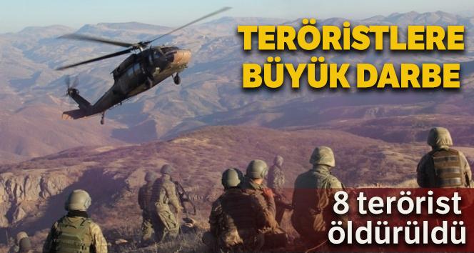 İçişleri Bakanlığı açıkladı: Şırnak'ta 8 terörist etkisiz hale getirildi