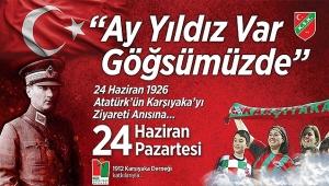 """Karşıyaka'da tek yürek kutlama: """"Ay-Yıldız Var Göğsümüzde"""""""