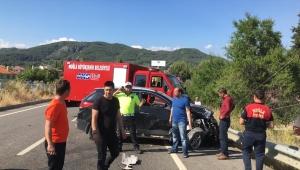 Muğla'da trafik kazası: 1 ölü, 6 yaralı