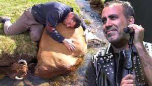 Telef olan ineğine ağlayan çiftçiye Haluk Leven'ten yardım eli