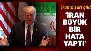 Trump: 'İran drone'u vurarak büyük bir hata yaptı'