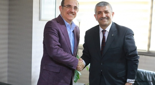 AK Partili Sürekli'den MHP'li Şahin'e iade-i ziyaret