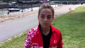 Ayşe Tekdal 20 km yürüyüşte altın madalya kazandı