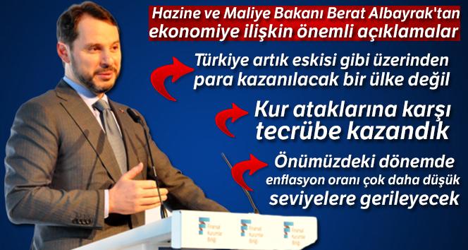 Bakan Albayrak: 'Türkiye artık eskisi gibi üzerinden para kazanılacak bir ülke değil'
