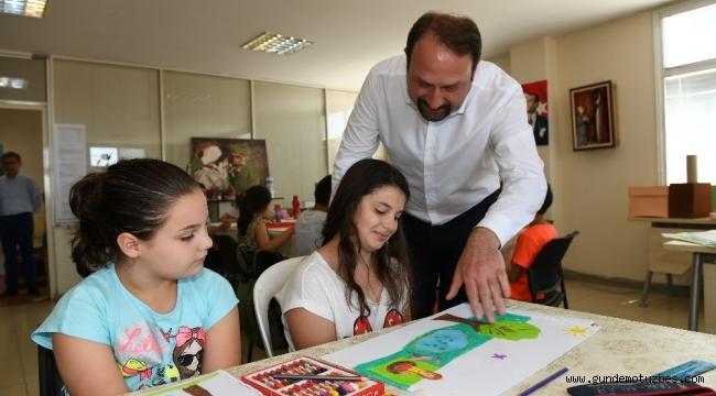 Çiğli'de sanat kursları başladı