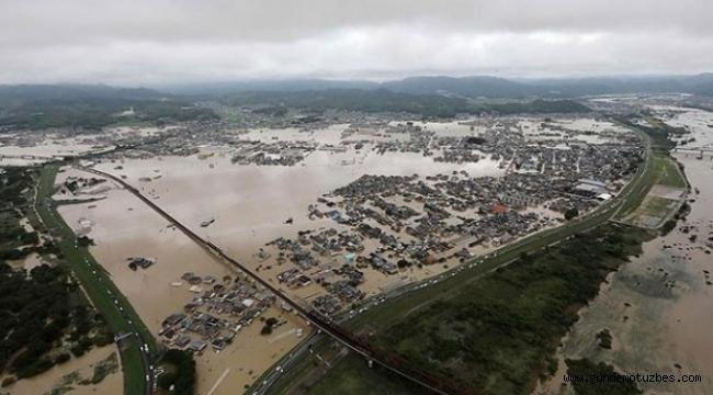 Çin'de sel felaketi: 17 ölü