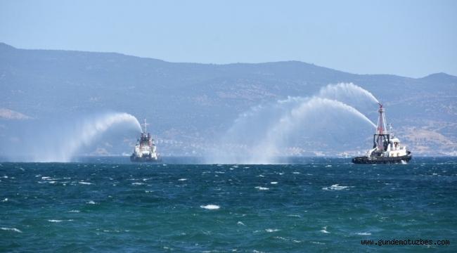 Denizcilik ve Kabotaj Bayramına Aliağa'da coşkulu kutlama