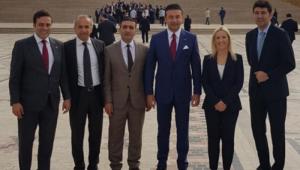 Ekrem İmamoğlu'na Beşiktaş tam kadro eşlik etti