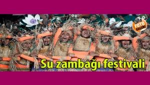 Filipinler'de su zambağı festivali coşkusu yaşanıyor