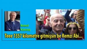 Kemal Karataş, 2 milyoncuk öpülen Alaçatılı Remzi Abi'yi yazdı...