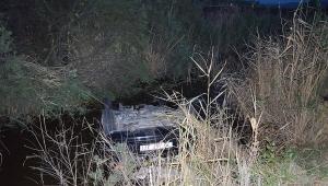 Su dolu kanala düşen araçta, kocasının cesediyle birlikte 25 saat kurtarılmayı bekledi