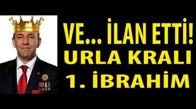 """Ve... CHP'li Urla Belediye Başkanı Oğuz """"Kral""""lığını ilan etti ve ekledi: Herkes kırmızı koltuğa oturamaz!"""