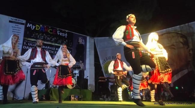 1. Uluslararası Köyceğiz Dans ve Müzik Festivali başladı