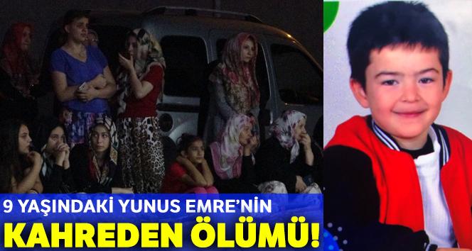 9 yaşındaki Yunus Emre'nin cansız bedeni ilaçlama tankerinde bulundu