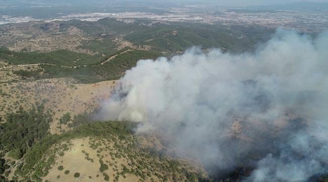 Bakan Bekir Pakdemirli'den İzmir Urla'da çıkan orman yangını hakkında açıklama