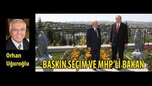BASKIN SEÇİM VE MHP'Lİ BAKAN