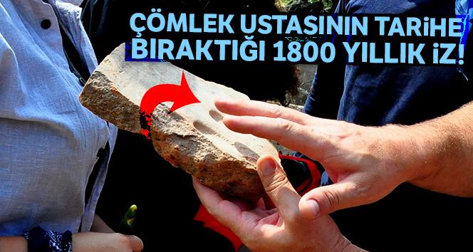 Çömlek ustasının tarihe bıraktığı 1800 yıllık iz