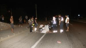 Fethiye'de otomobil motosiklete çarptı; 1 ölü