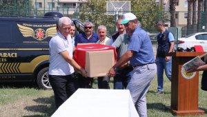Kahraman Ukraynalı pilota İzmir'de cenaze töreni