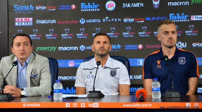 M. Başakşehir, Olympiakos maçına hazır