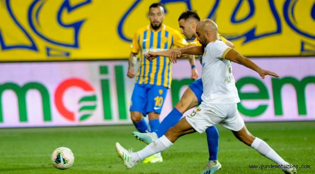 Süper Lig: MKE Ankaragücü: 1 - İstikbal Mobilya Kayserispor: 1
