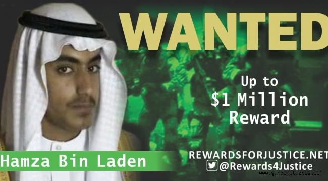ABD, başına ödül koyduğu Usame bin Ladin'in oğlunun öldürüldüğünü açıkladı