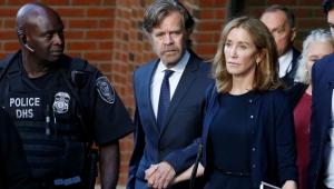 ABD'nin en büyük eğitim skandalında ilk ceza: Ünlü oyuncu Huffman 14 gün hapis cezası aldı