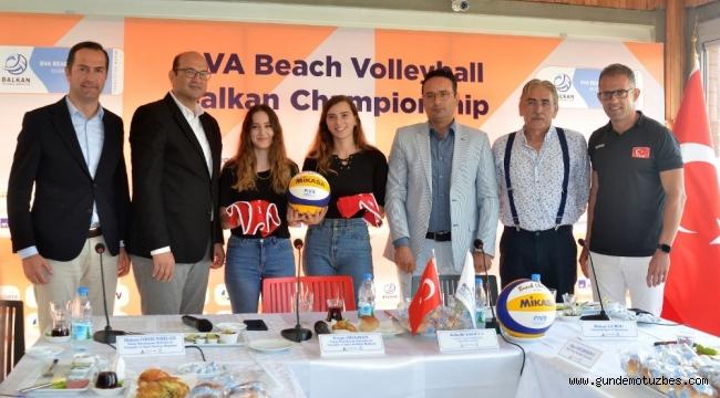 Balkan Plaj Voleybol Şampiyonası başlıyor