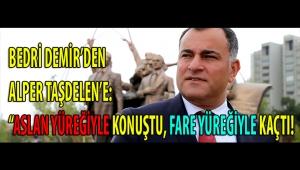 BEDRİ DEMİR'DEN ALPER TAŞDELEN'E: