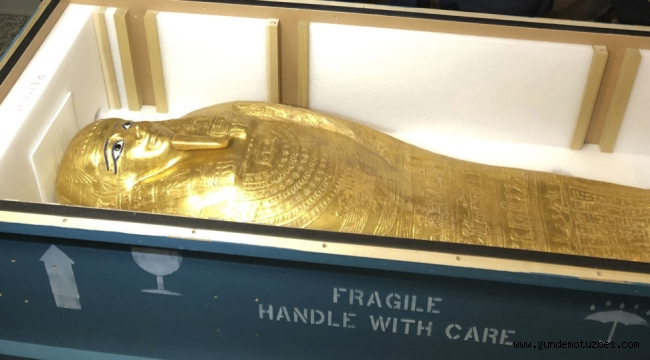 Çalıntı tabut, anavatanı Mısır'a dönüyor