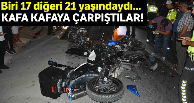 Dalaman'da motosiklet kazası; 2 ölü