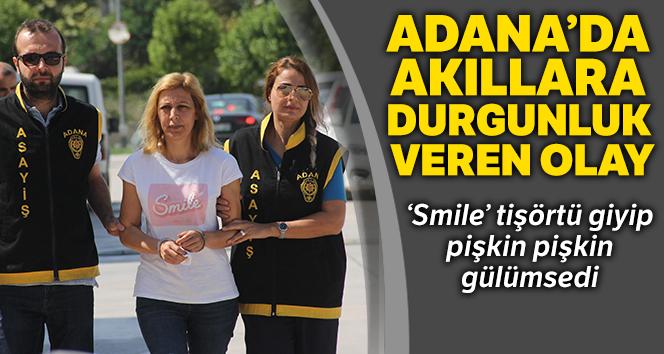 Eşini öldürtüp yaktı, 13 yıl maaşını çekip yedi, 'Smile' tişörtü giyip gülümsedi