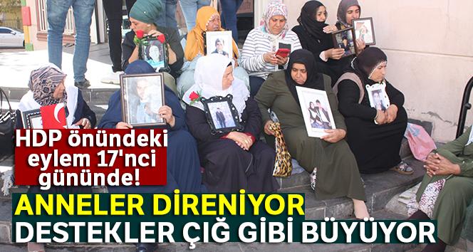 HDP önündeki eylem 17'nci gününde! Anneler direniyor, destekler çığ gibi büyüyor