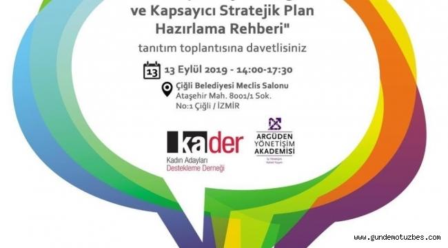 KA.DER'den belediyelere entegre ve kapsayıcı rehber