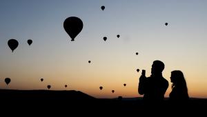 Kapadokya'da Pazar günü balon turları iptal edildi