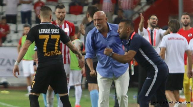 Süper Lig: Antalyaspor: 2 - İstikbal Mobilya Kayserispor: 2