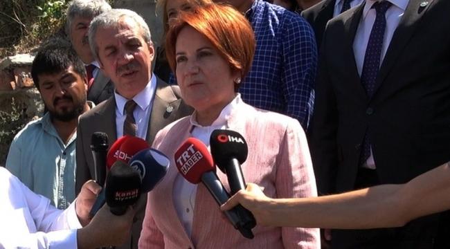 Akşener: Cumhurbaşkanlığı Hükümet Sistemini Türkiye taşıyamıyor, Erdoğan'a da yazık oluyor